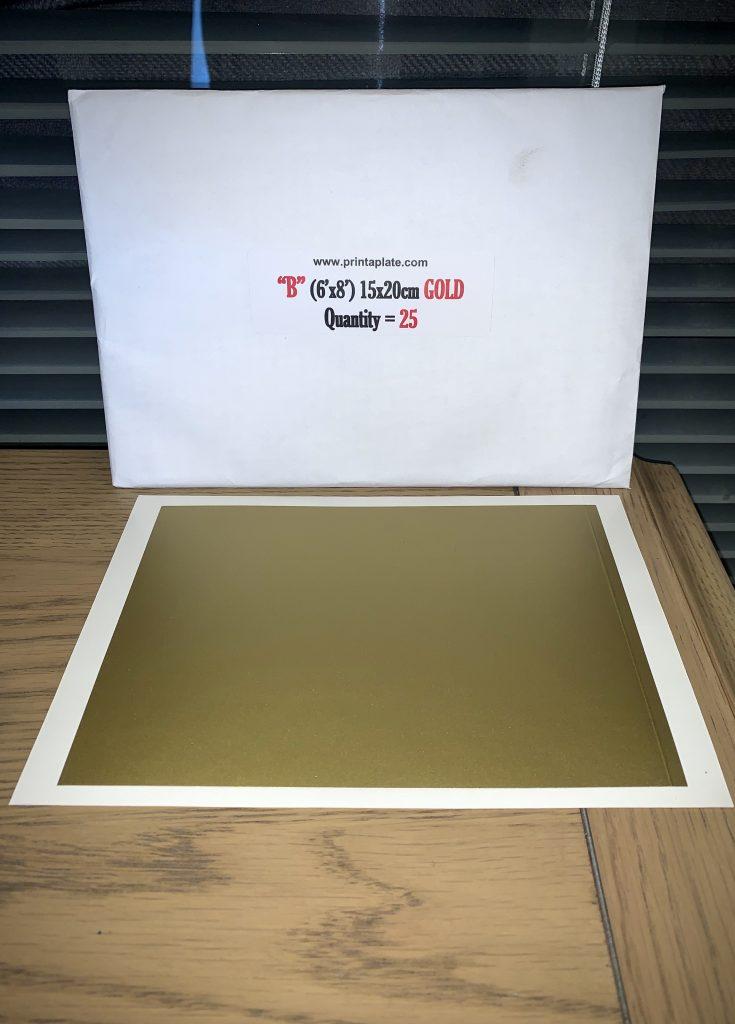 GOLD 8X6 B